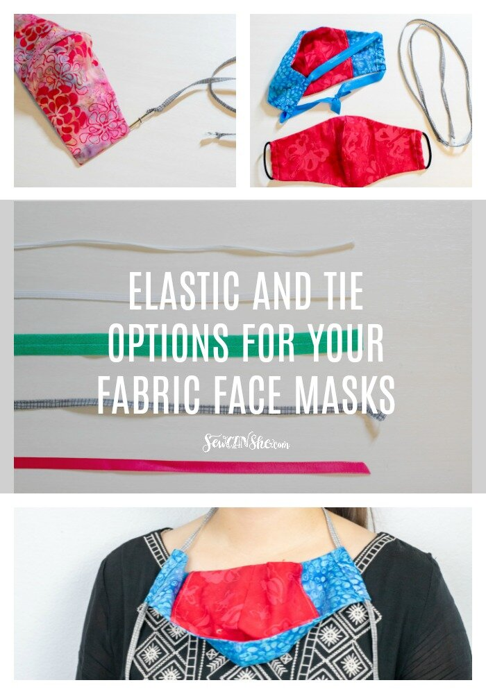 Elastic And Tie Solutions For Your Fabric Face Masks Sewcanshe