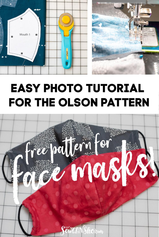 Mask patterns PATTERN ONLY