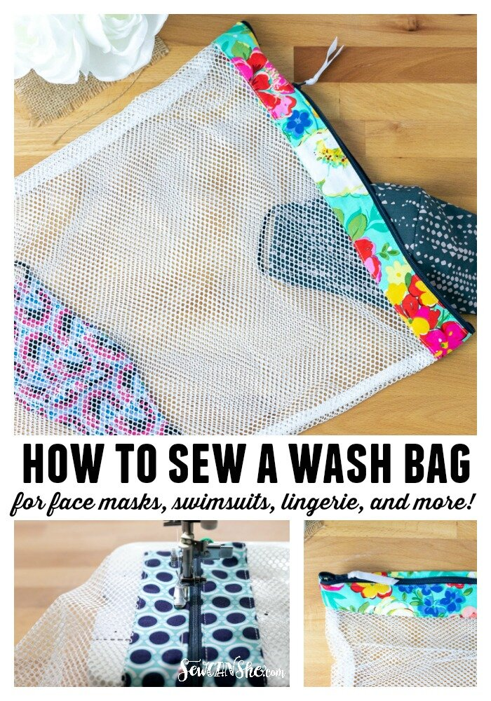 how to make a wash bag