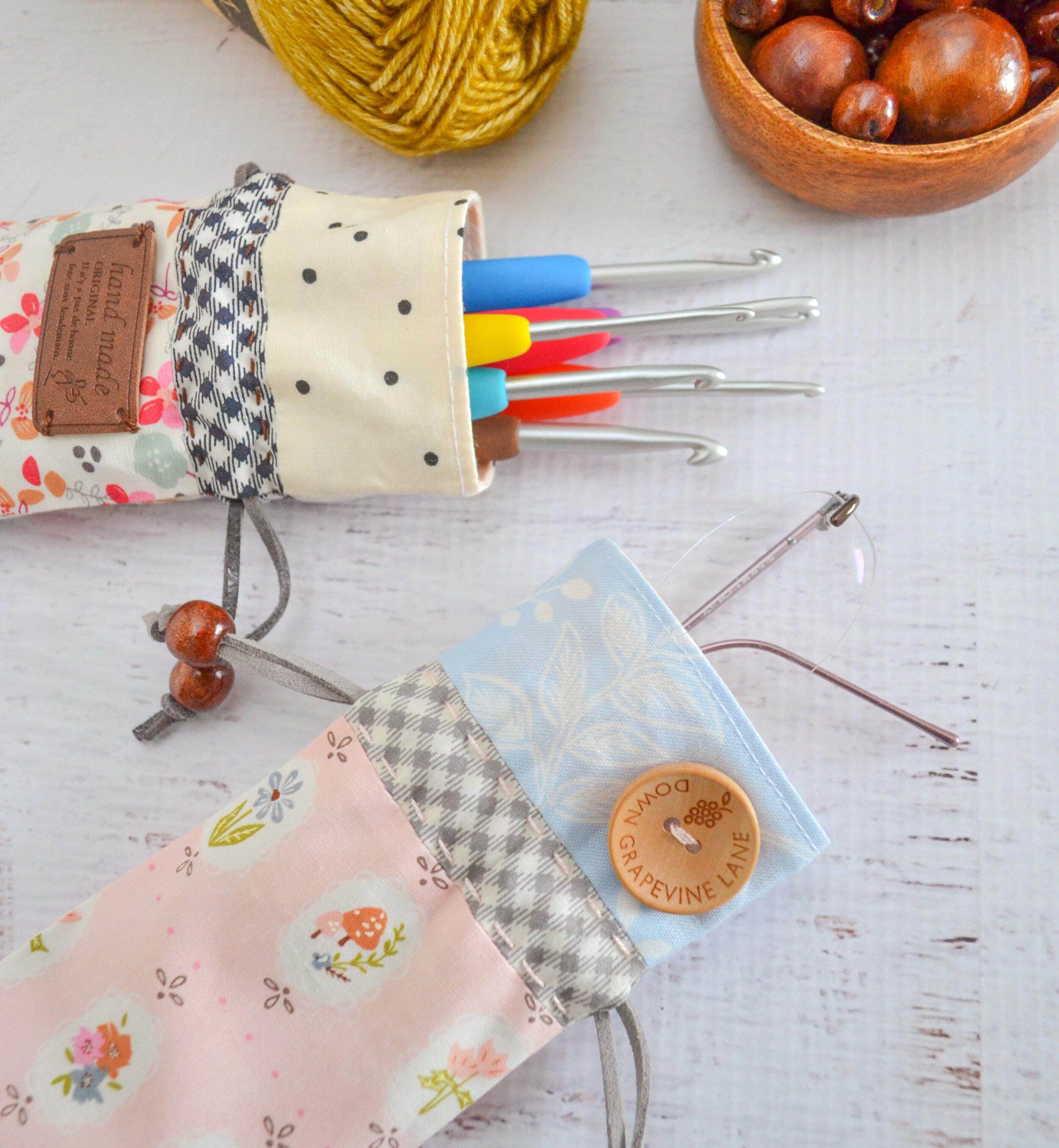Handy Dandy Pouch - Skinny Drawstring Bag Tutorial — SewCanShe ...