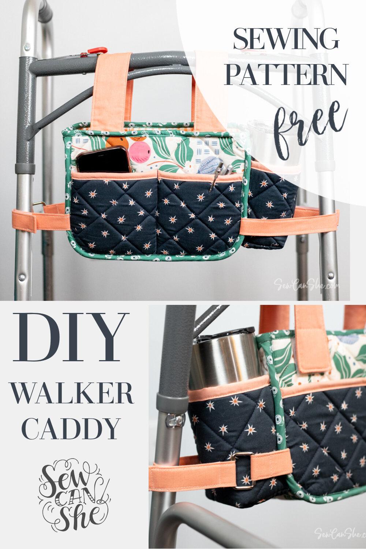 walker caddy sewing pattern