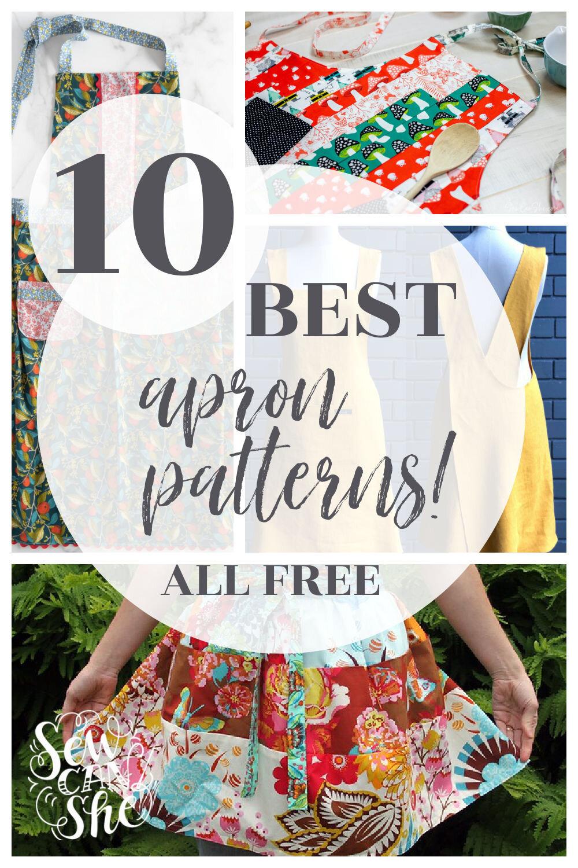 best free apron patterns