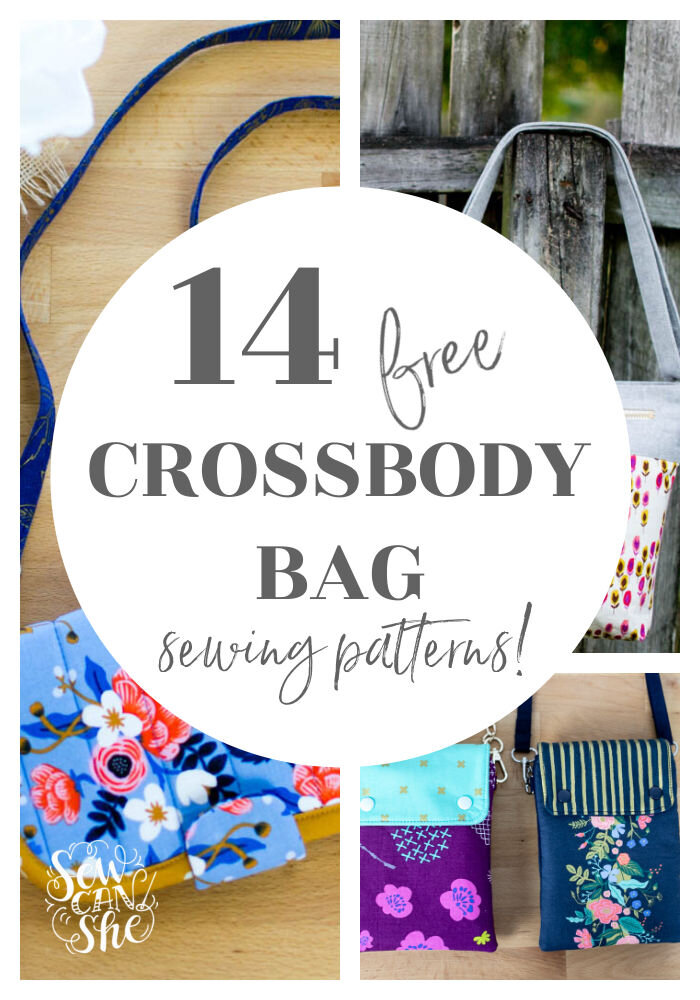 cross body bag free sewing patterns