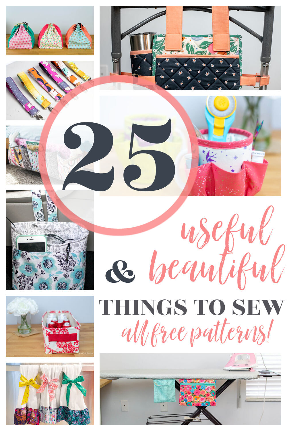 Free Sewing Patterns for Useful and Beautiful Projects