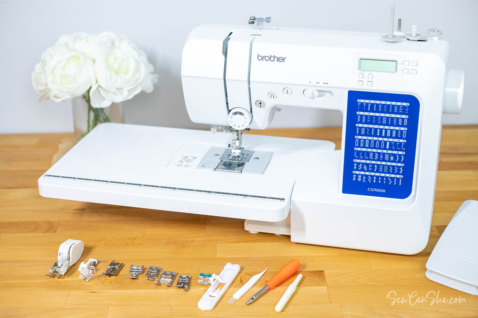 Brother CS7000X sewing machine