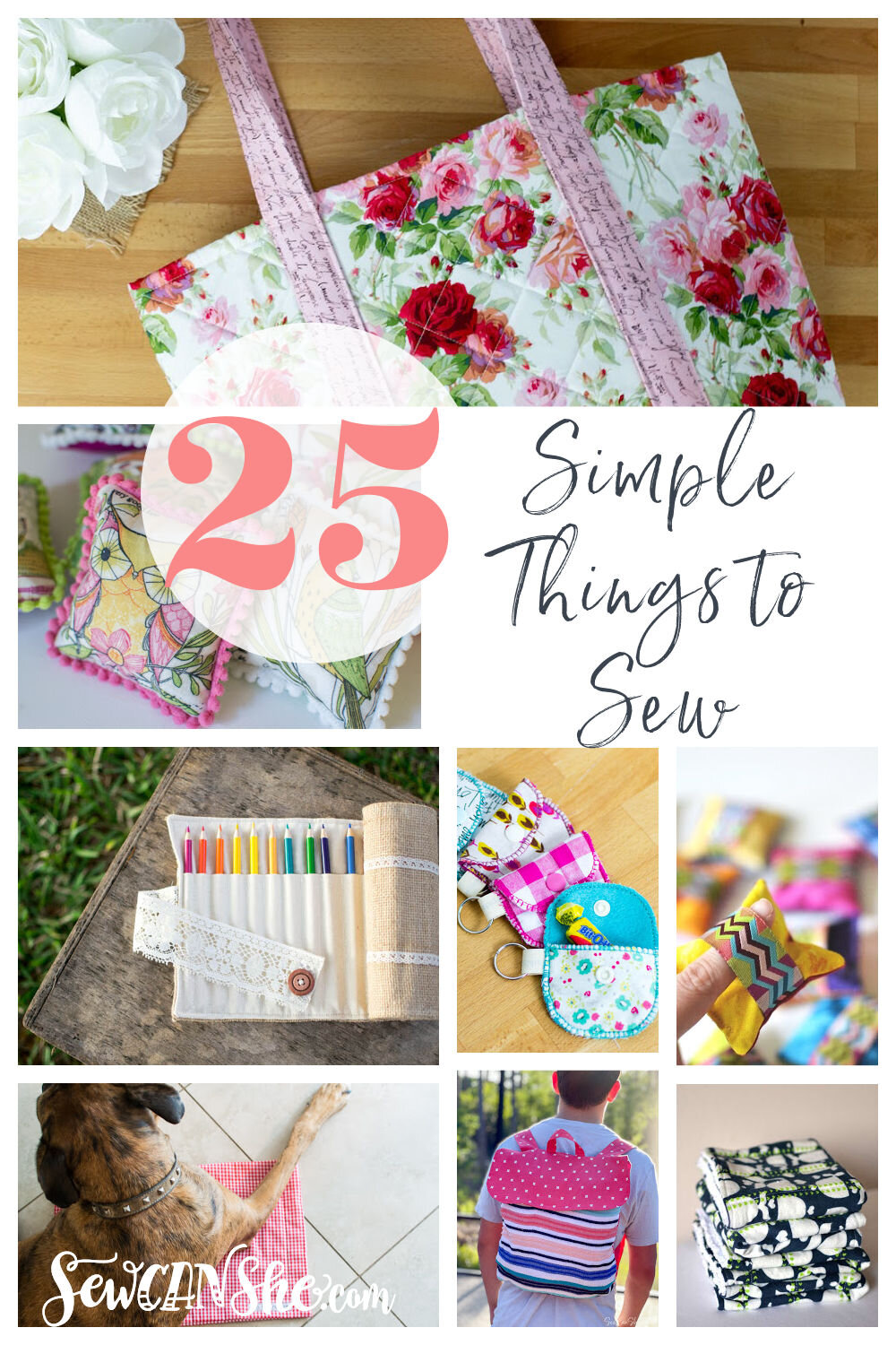 simple and easy things to sew