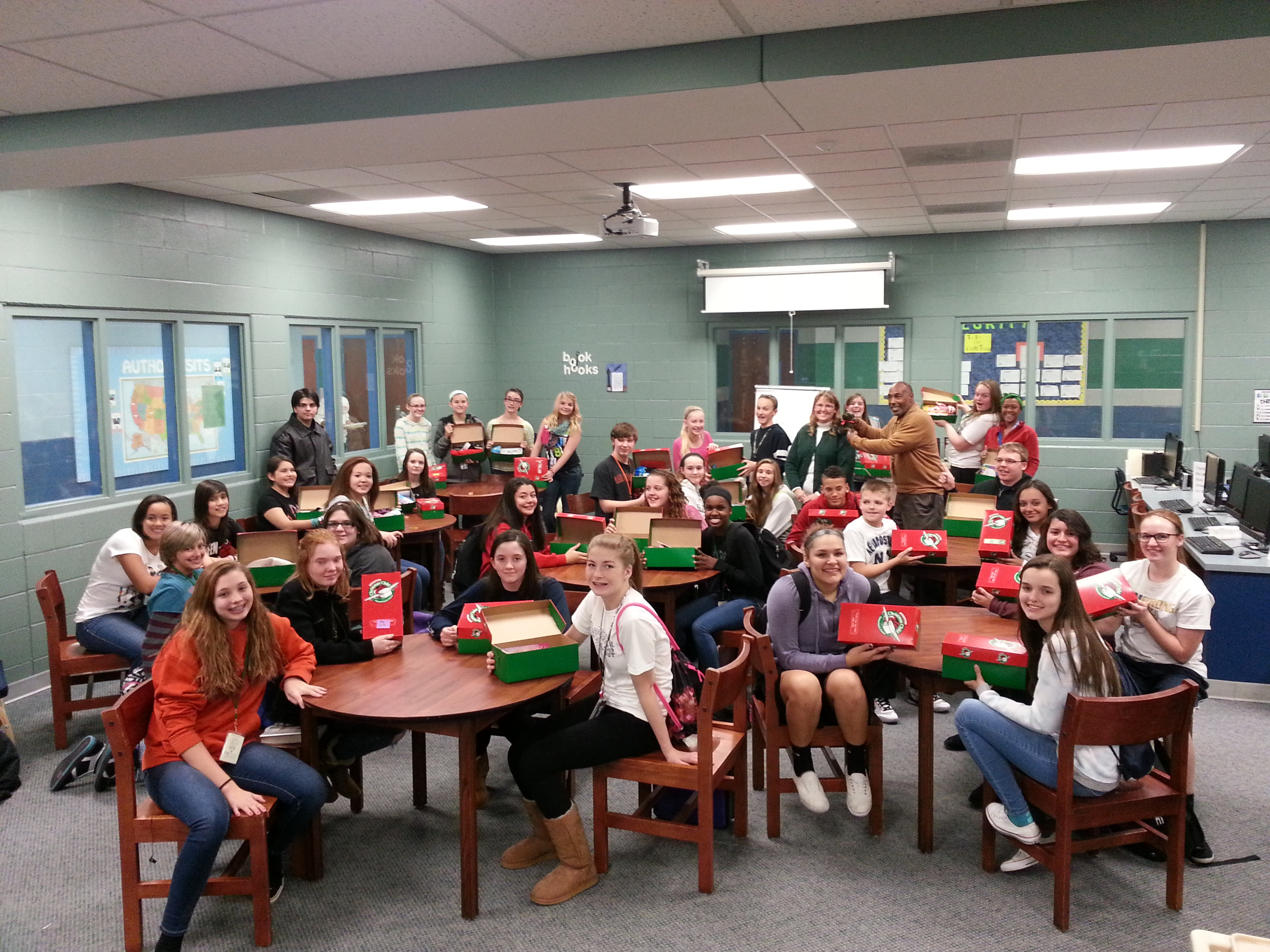 christmas around the world activities for middle school
