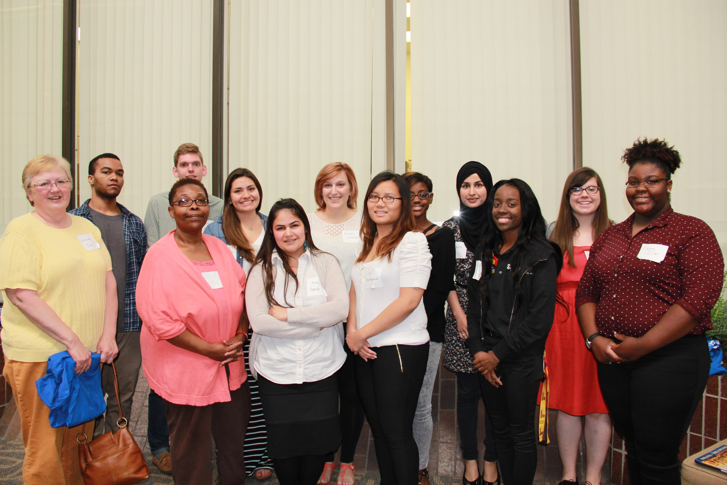 LINC AmeriCorps VISTA volunteers. VISTAs will be working with LINC during summer school from June 1-July 10.