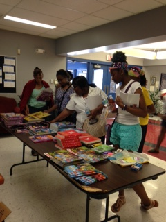 Participants in the May 7 Educare training each received two free books to use at their child care center.