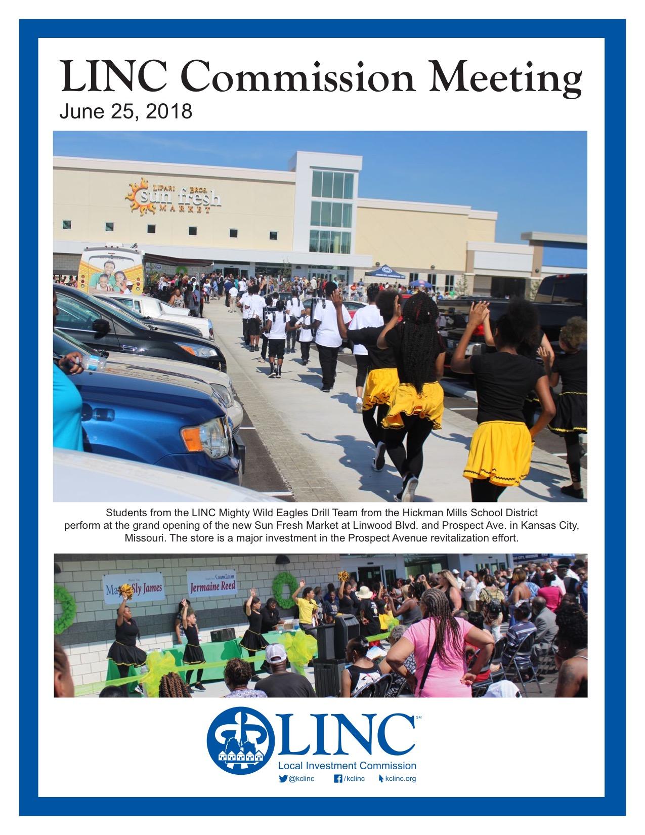 LINC Commission Meeting June 2018