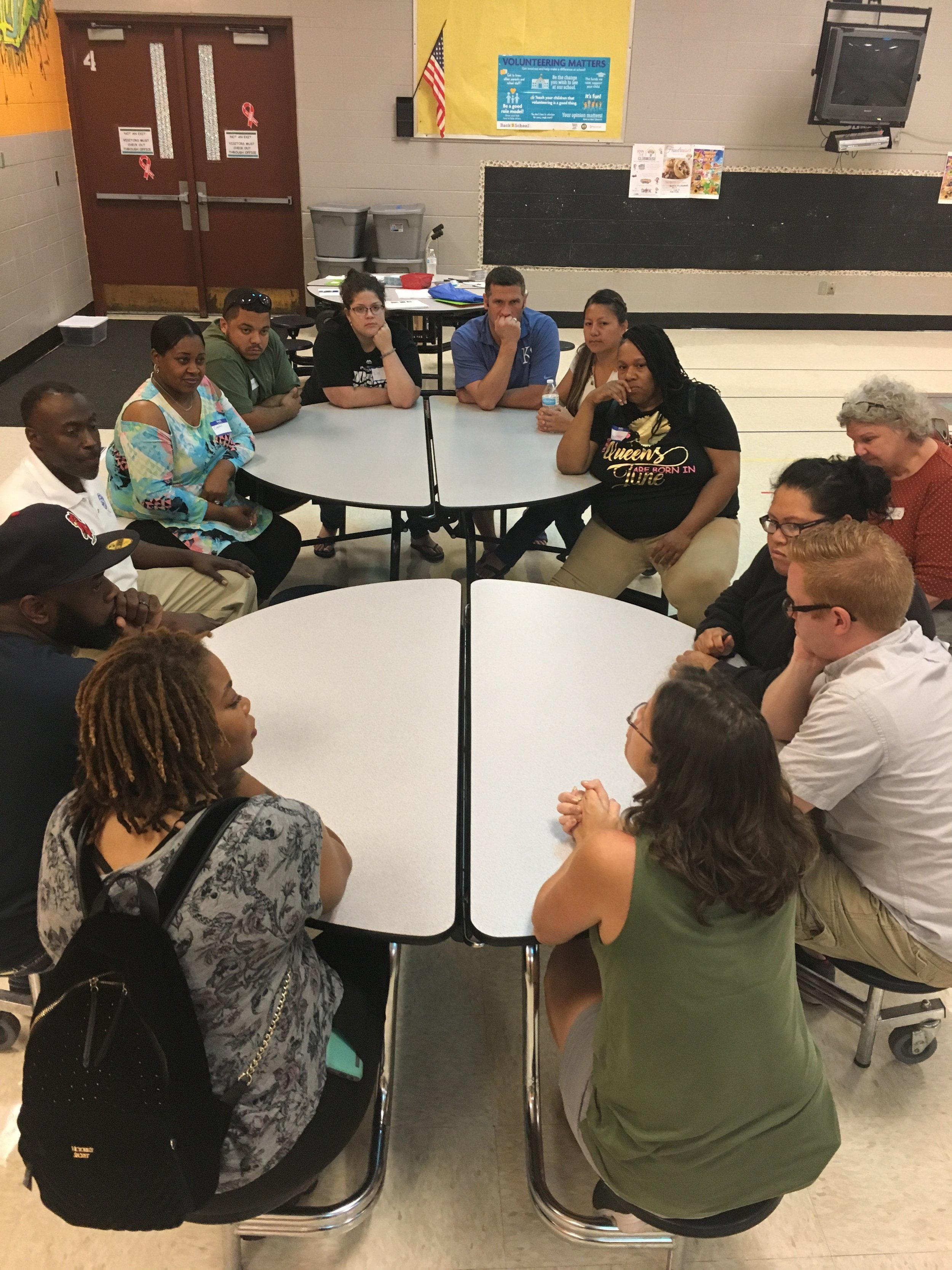 Support groups gather parents into community.