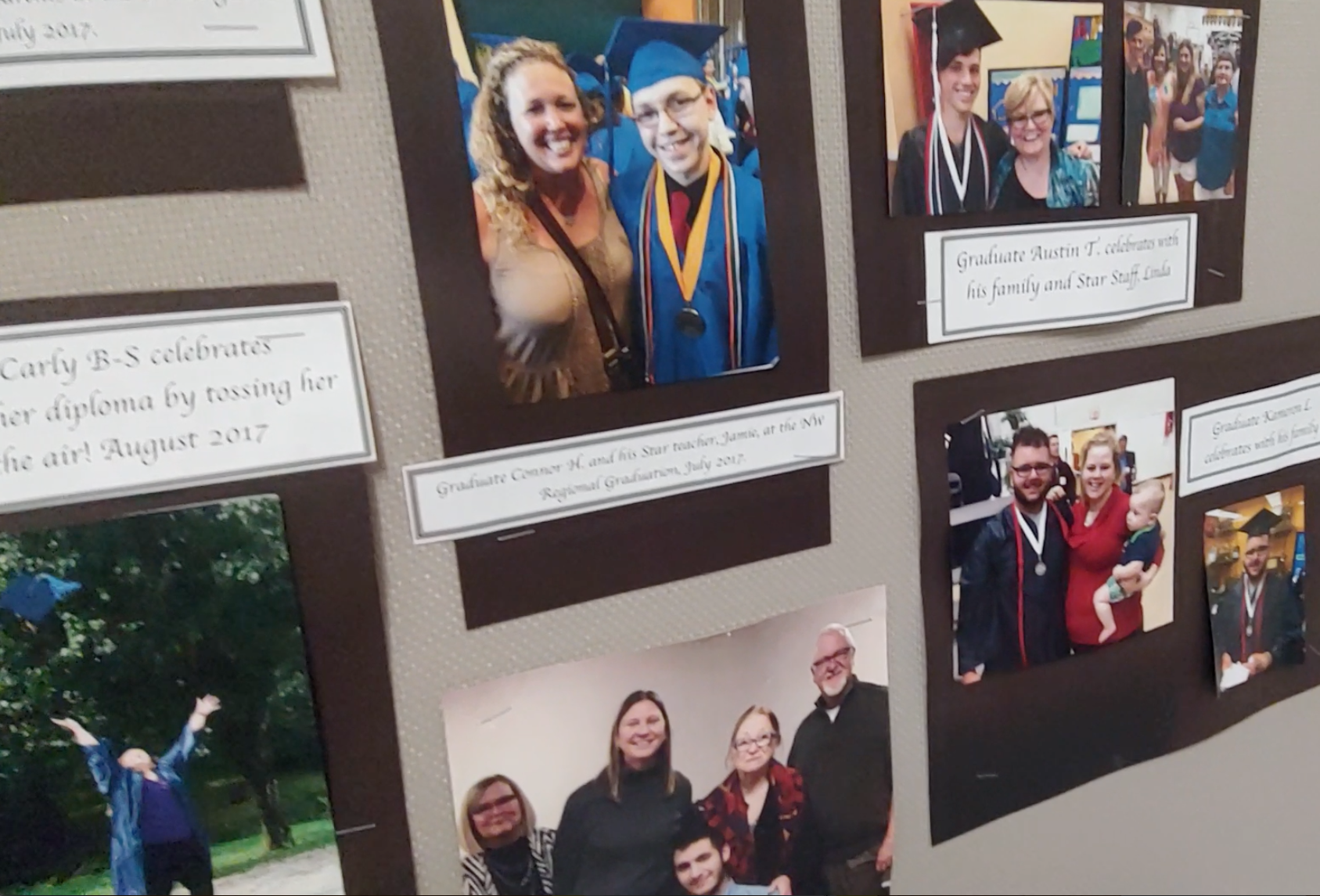 The Star School Kansas City office posts pictures from their students' graduation ceremonies throughout Missouri.