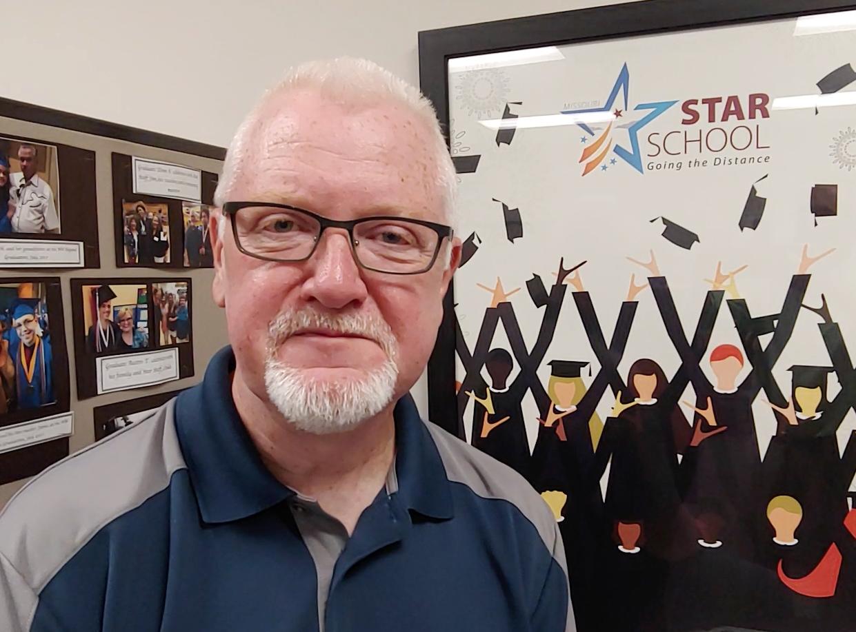 Star School Principal Jim Dunn