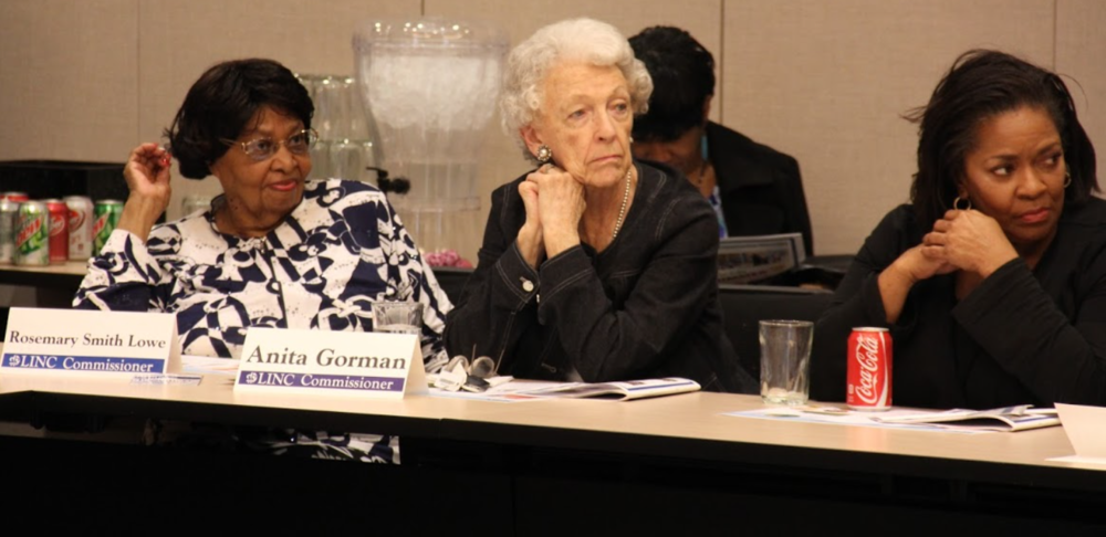 """Lowe encouraged the """"power of the individual"""" at LINC Commission meetings."""