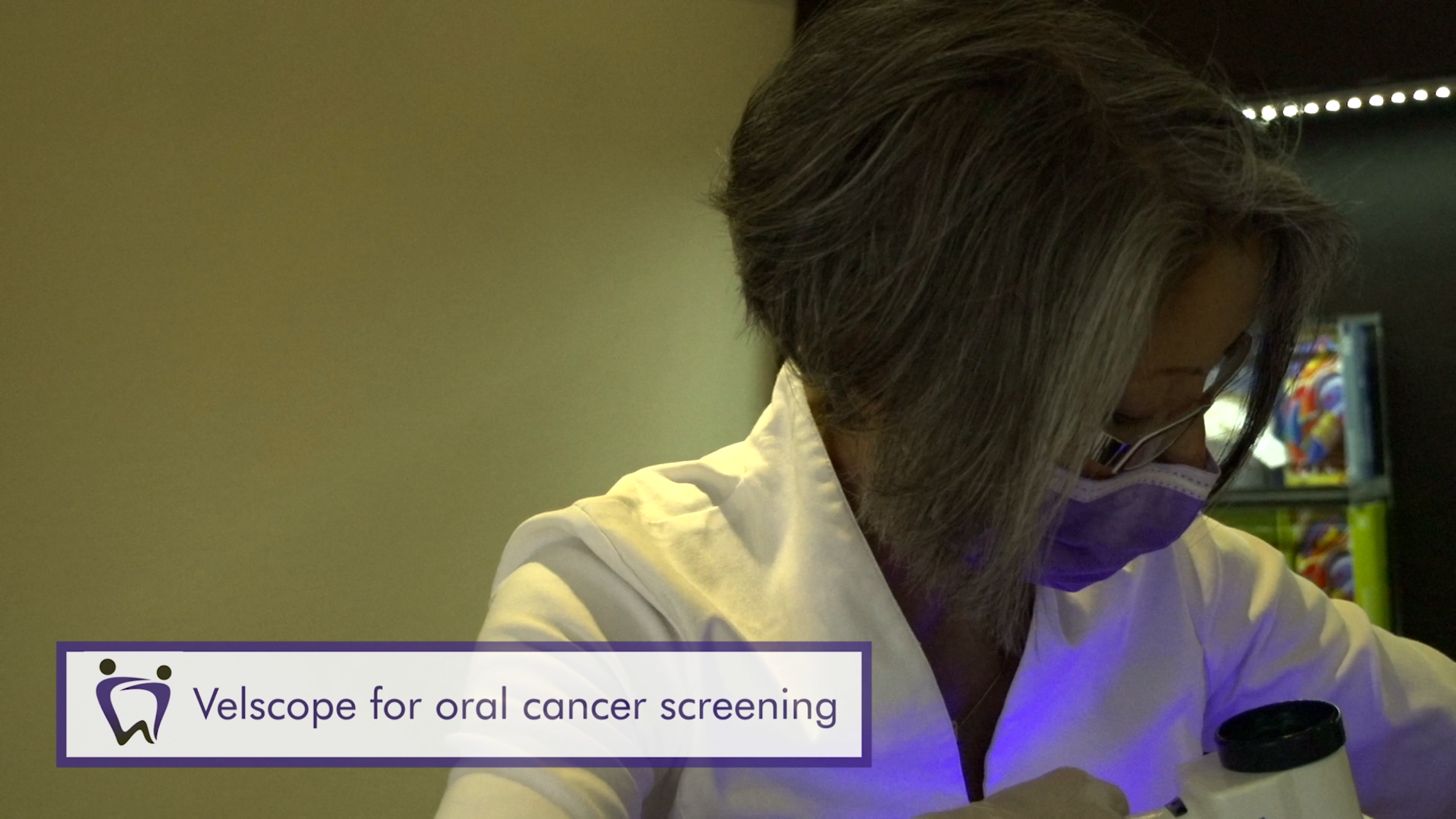 Velscope for oral cancer screening