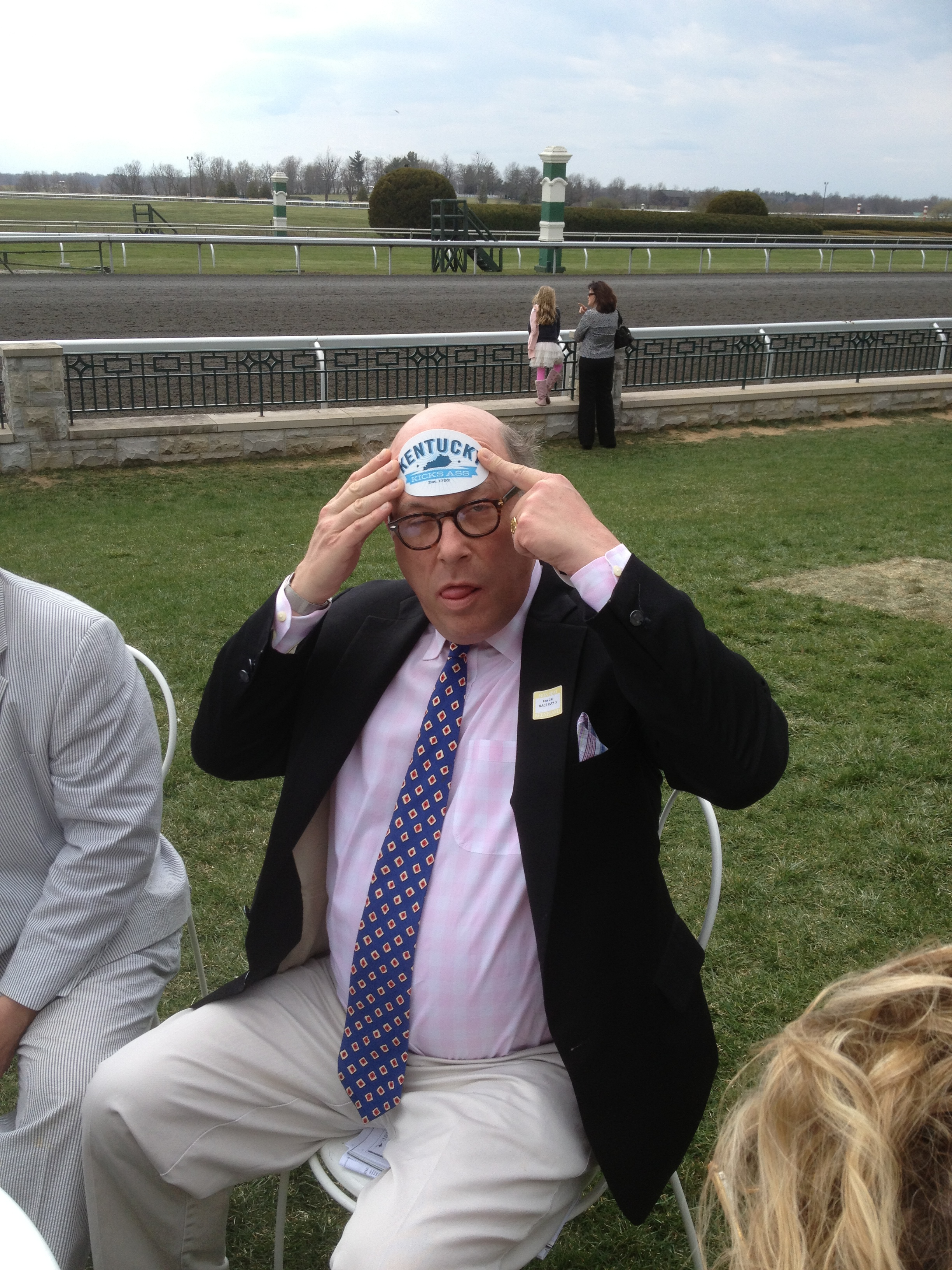 G Money Gregory took us out to Keeneland.