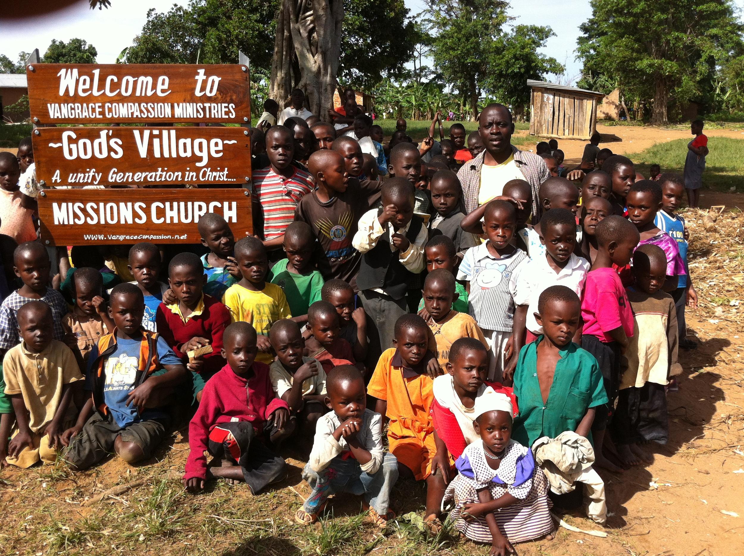 Vangrace Compassion Orphanage-God's Village.