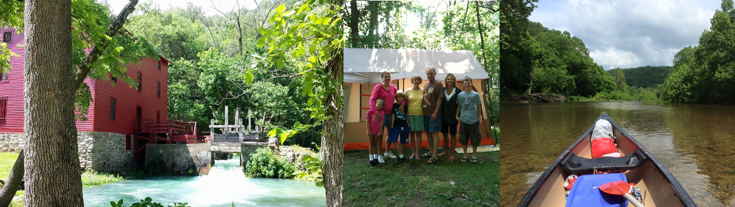 Alley Springs Mill, Alley Springs Campground, Jacks Fork River