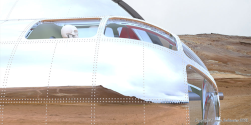 The rivets are modeled, not a texture. Click to enlarge