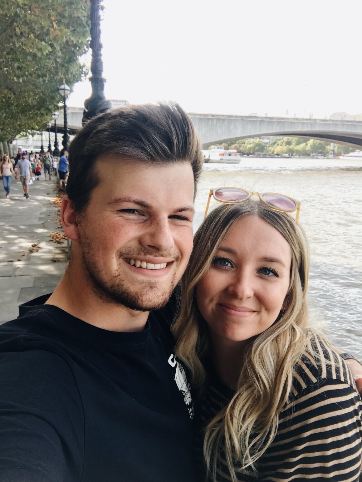 Was able to enjoy some time in London during my time off a few weeks ago, so thankful for him!