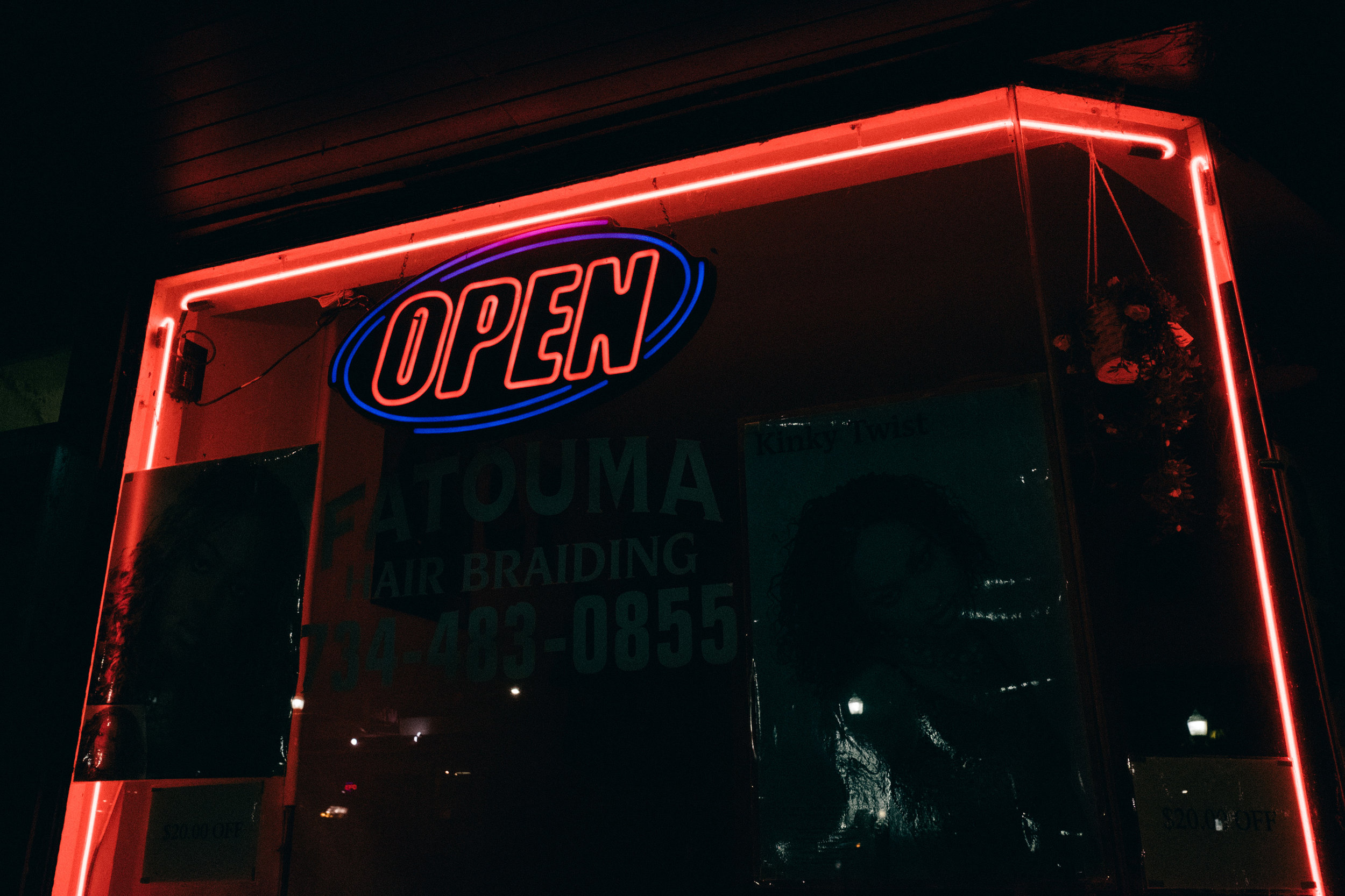 Open All Night - Photo Series / Ongoing