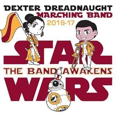 Star Wars Marching Band T-Shirt Design