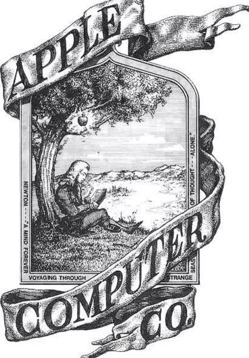 The Original Apple Logo