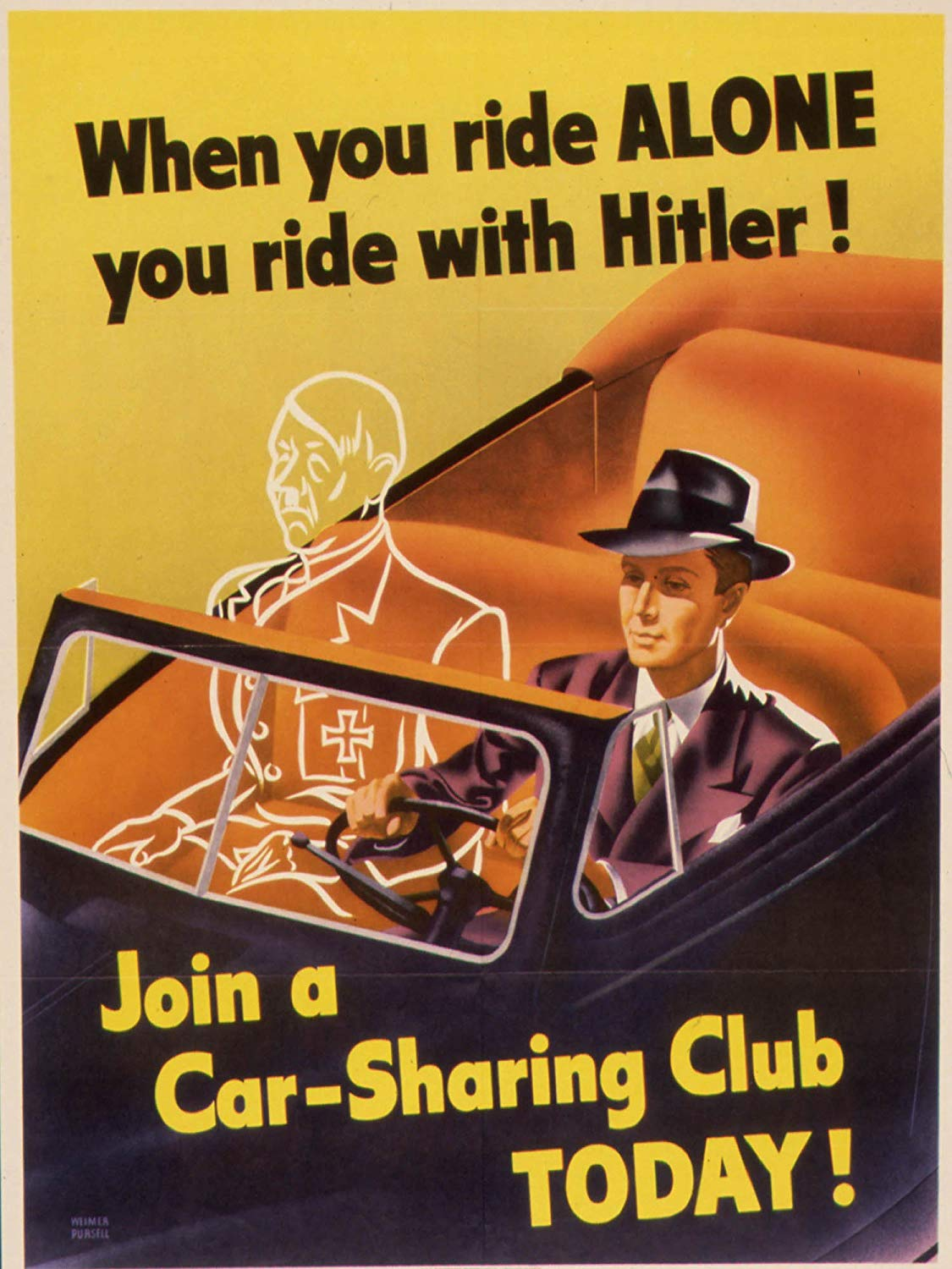 A Ride Alone is a Ride with Hitler