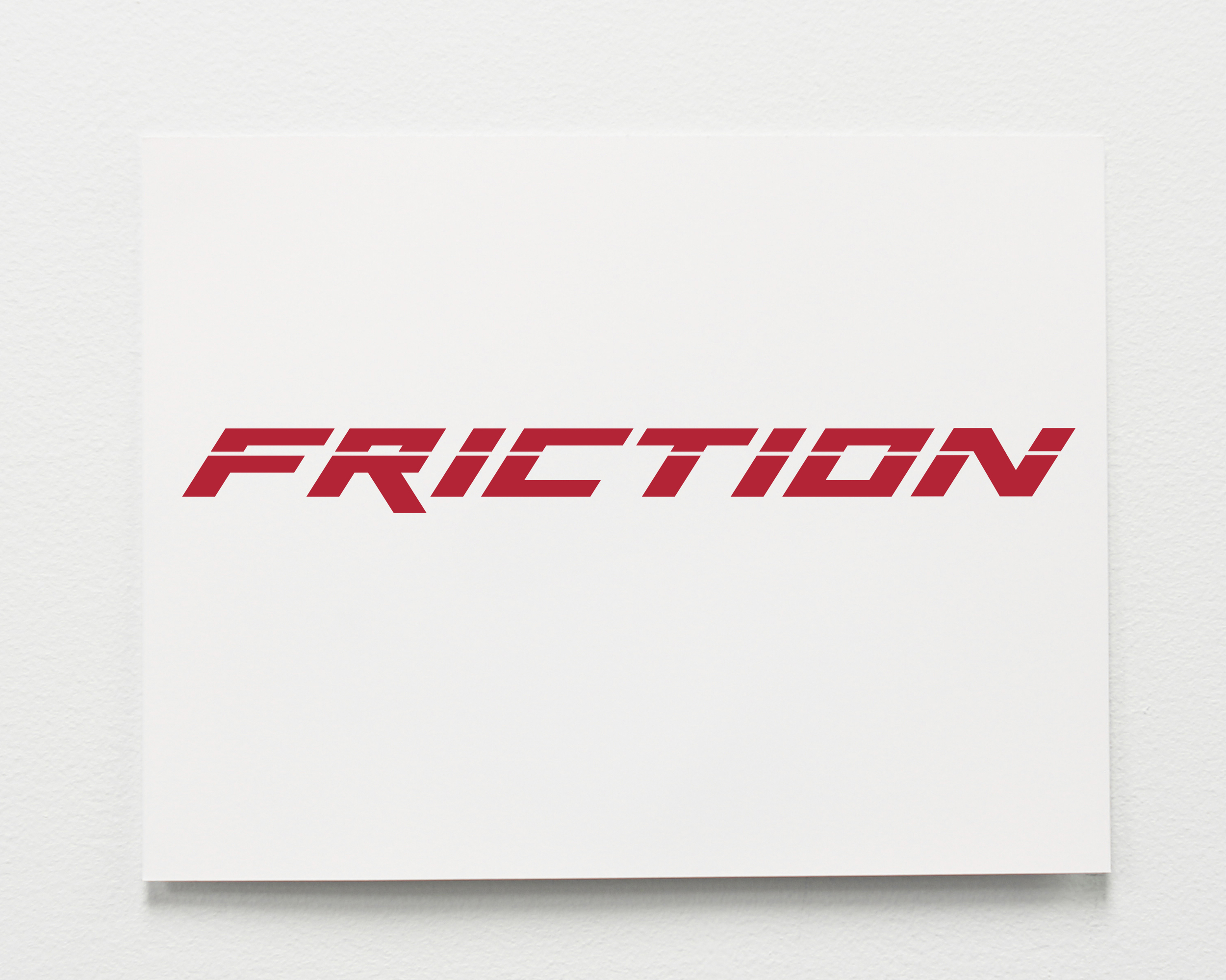 Friction (Red Hot)