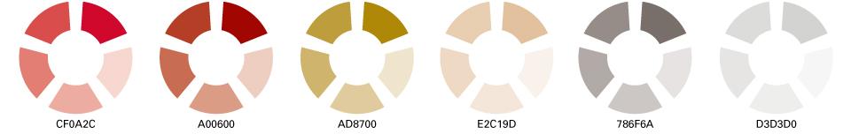 Recherche pour la création de la palette de couleur.