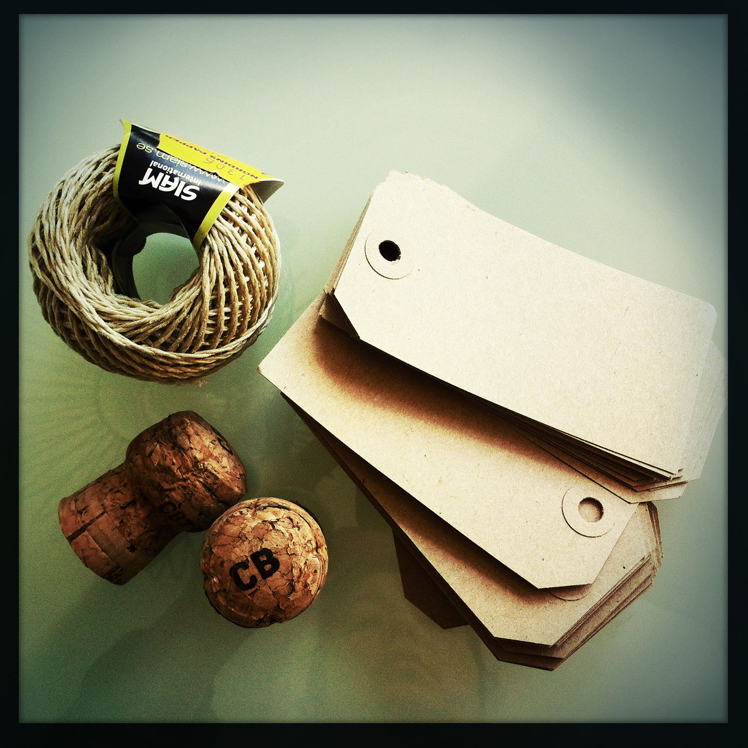 iPhone photo: branding supplies