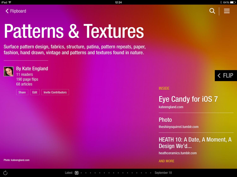 Patterns & Textures Magazine