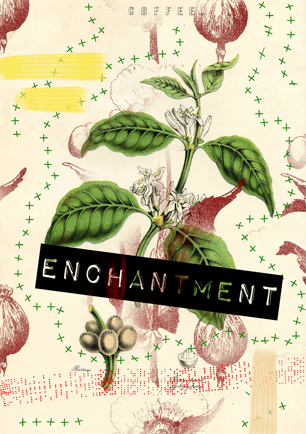 Enchantment. Mixed media. Kate England.