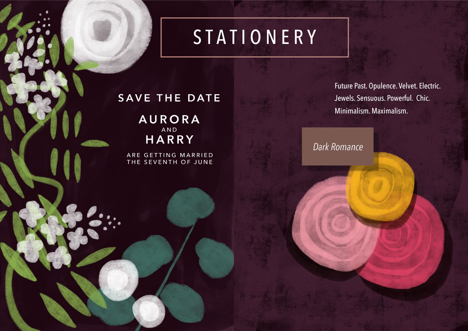 Stationery: Dark Romance