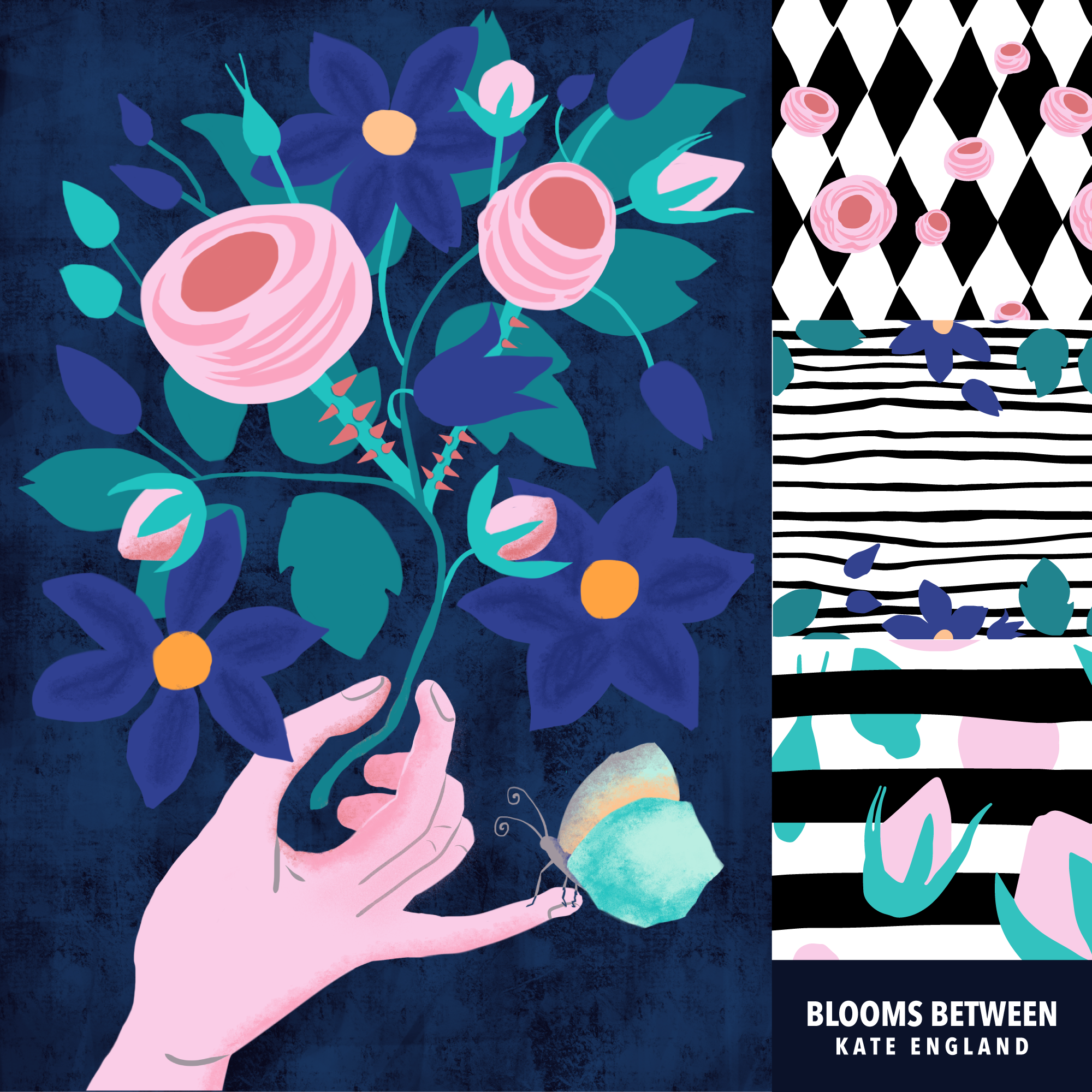 Blooms Between by Kate England