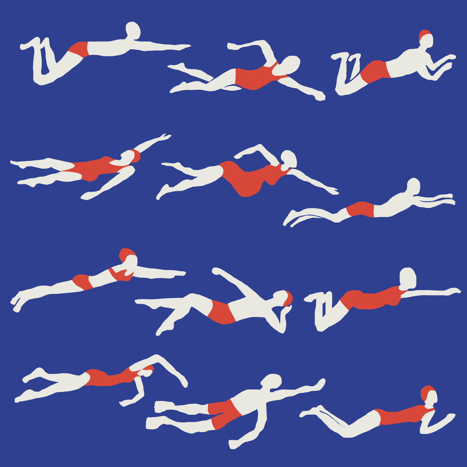 Swimmers.
