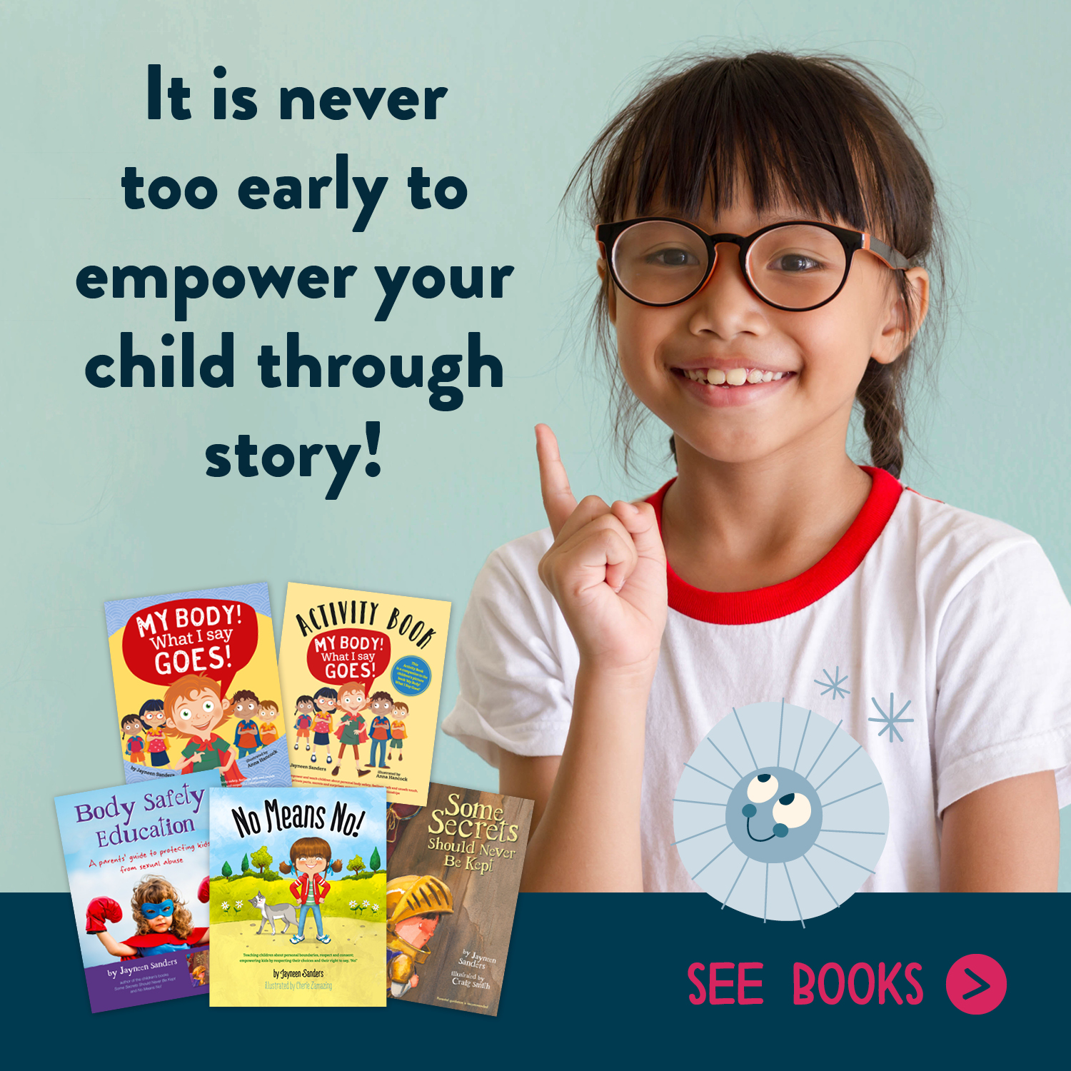 It is never too early to empower your child through story!