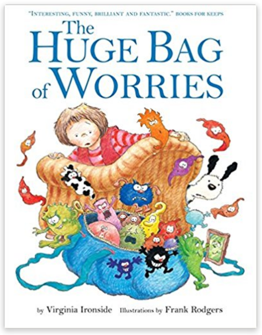 - Wherever Jenny goes, her worries follow her — in a big blue bag. They are there when she goes swimming, when she is watching TV, and even when she is in the lavatory. Jenny decides they will have to go. But who can help her? A great book to use with anxious children as it helps sort worries through and make them seem more manageable. It emphasizes that we all have worries and what to do about them.Available on Amazon for US [http://amzn.to/2iWiqVY] and UK [http://amzn.to/2jhUVDM] customers
