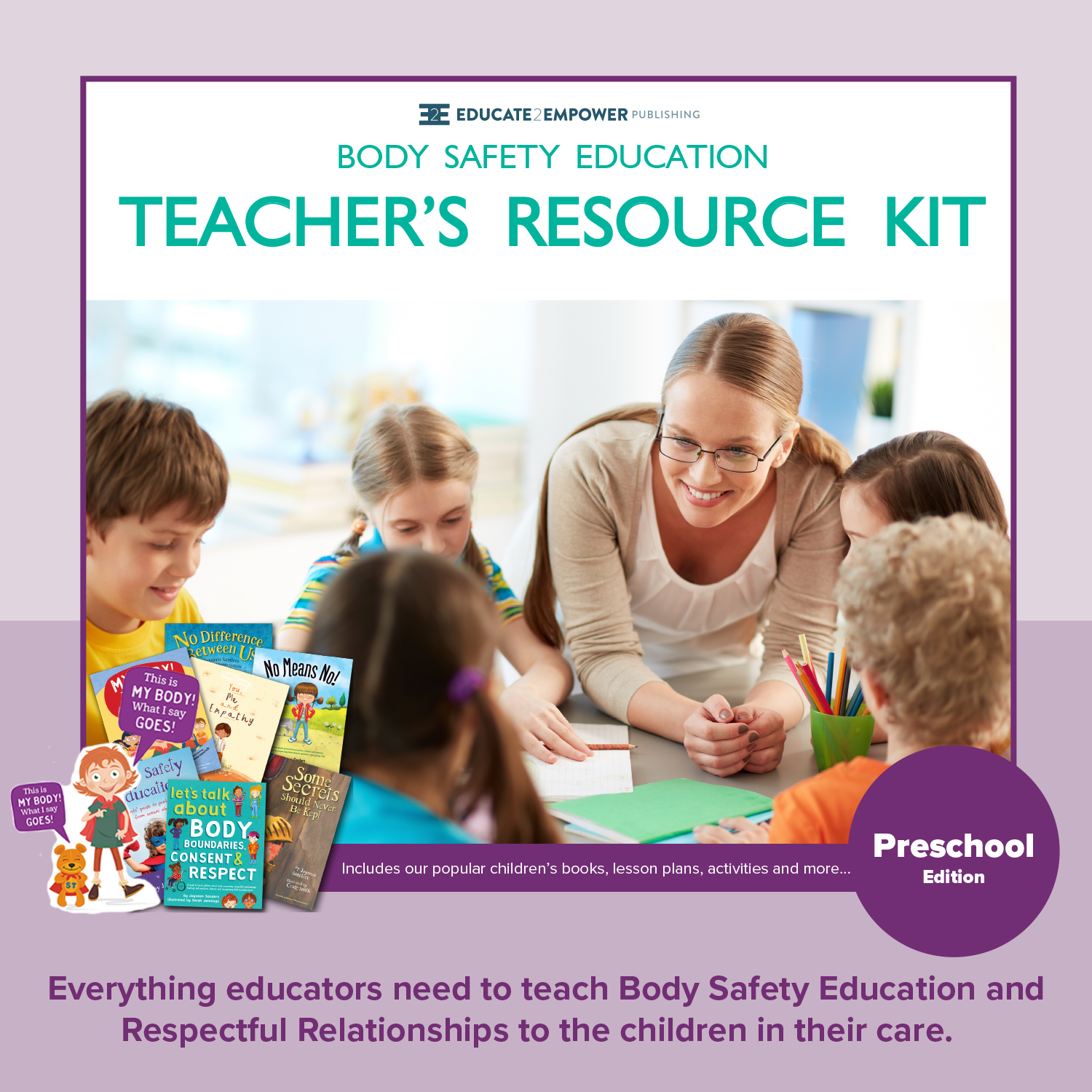 - Find out more about ourPreschool Teacher's Resource Kit