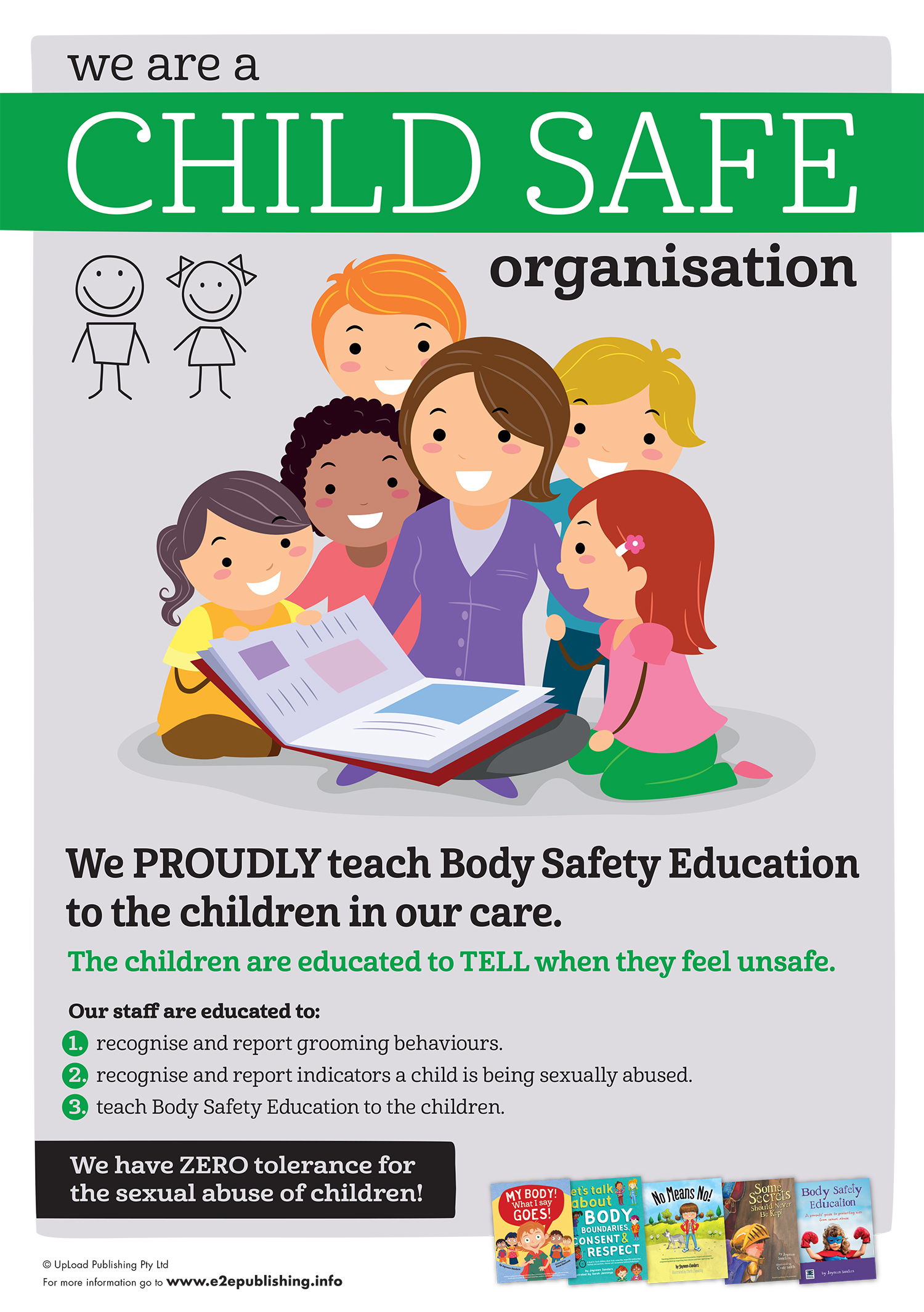 Posters Empowering Children In Body Safety Gender Equality And More Educate2empower Publishing