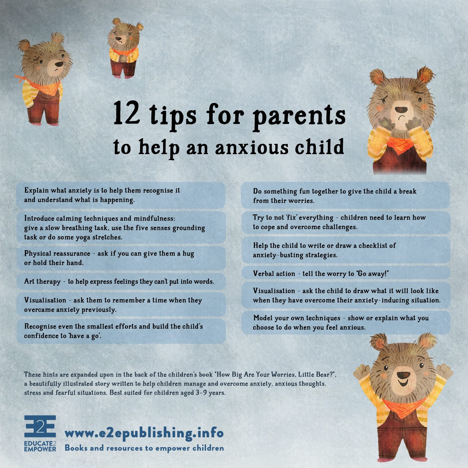 Empowering Kids In Anxious World >> Blog Educate2empower Publishing