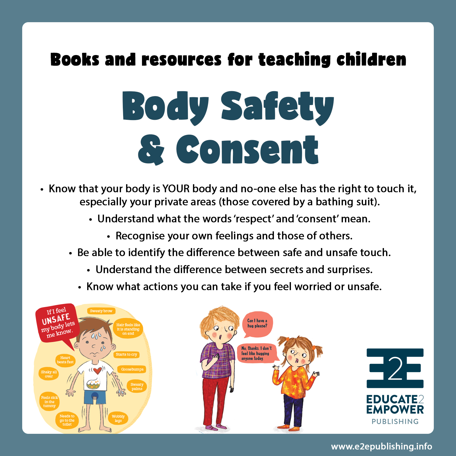 Teaching Children About Body Safety And Consent
