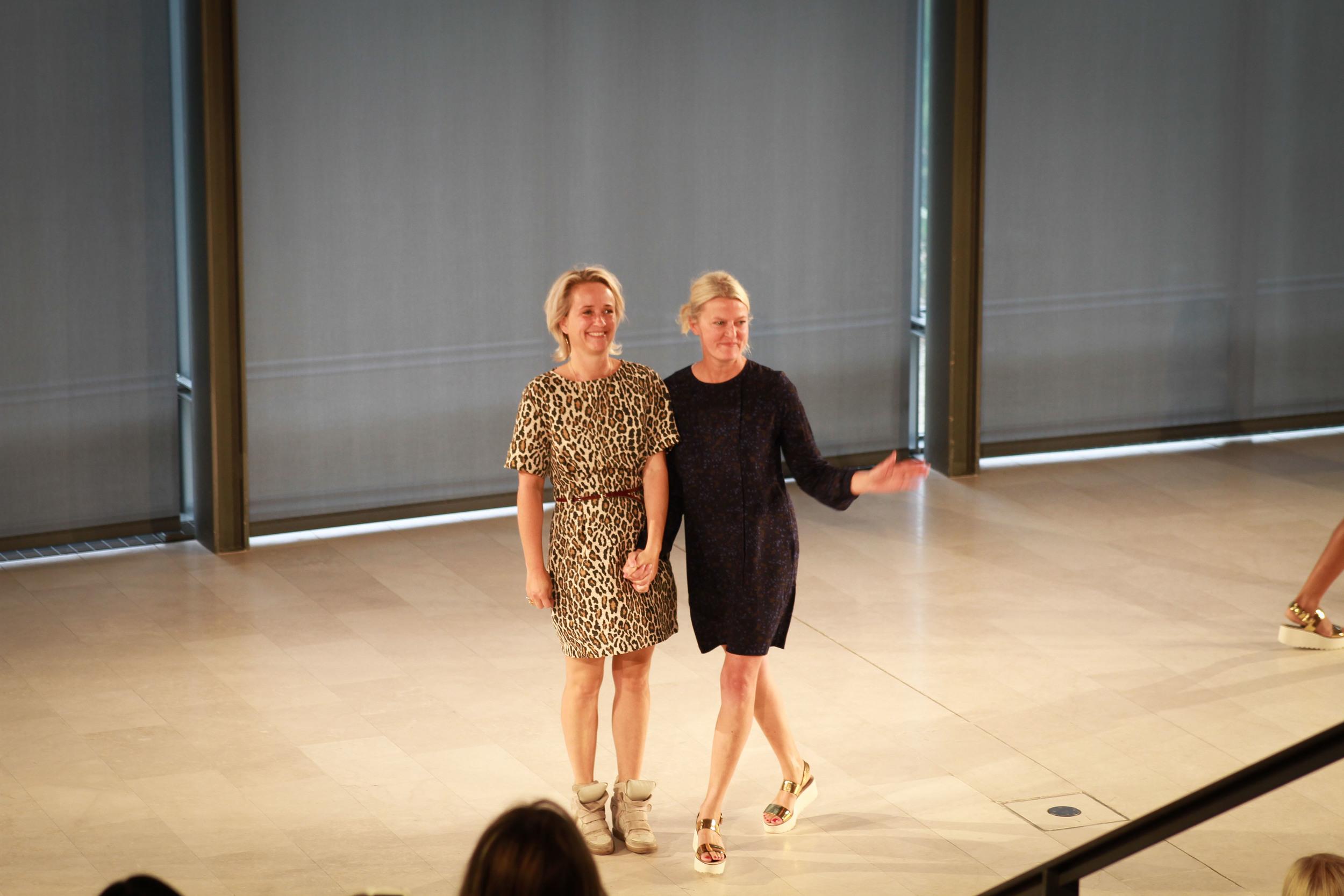 Rikke Baumgarten and Helle Hestehave