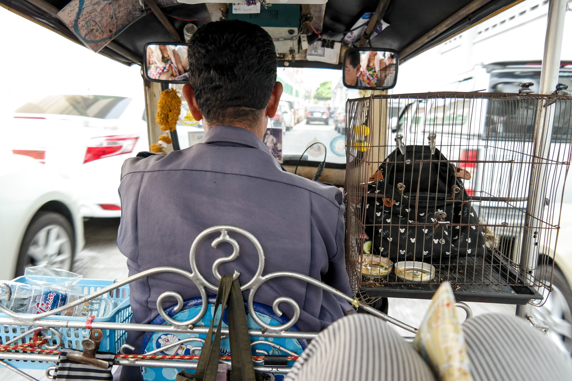 Driving with a tuk tuk was a major experience! Yes it seems very dangerous to Europeans, especially Swiss, but the traffic in Bangkok is crazy and without a small, maneuverable vehicle it would've been impossible to get to all the places we wanted to see.