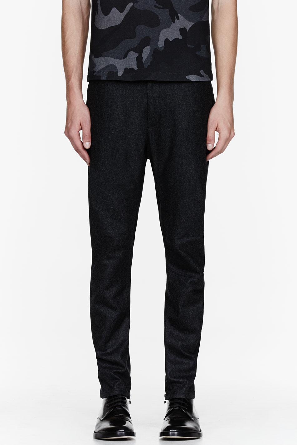 Lanvin biker trousers