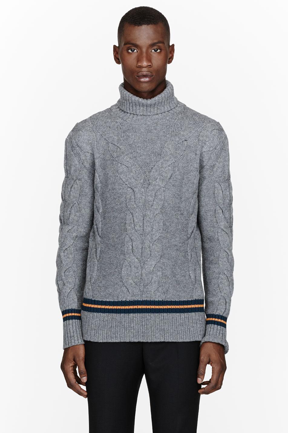 McQ Alexander McQueen turtleneck sweater