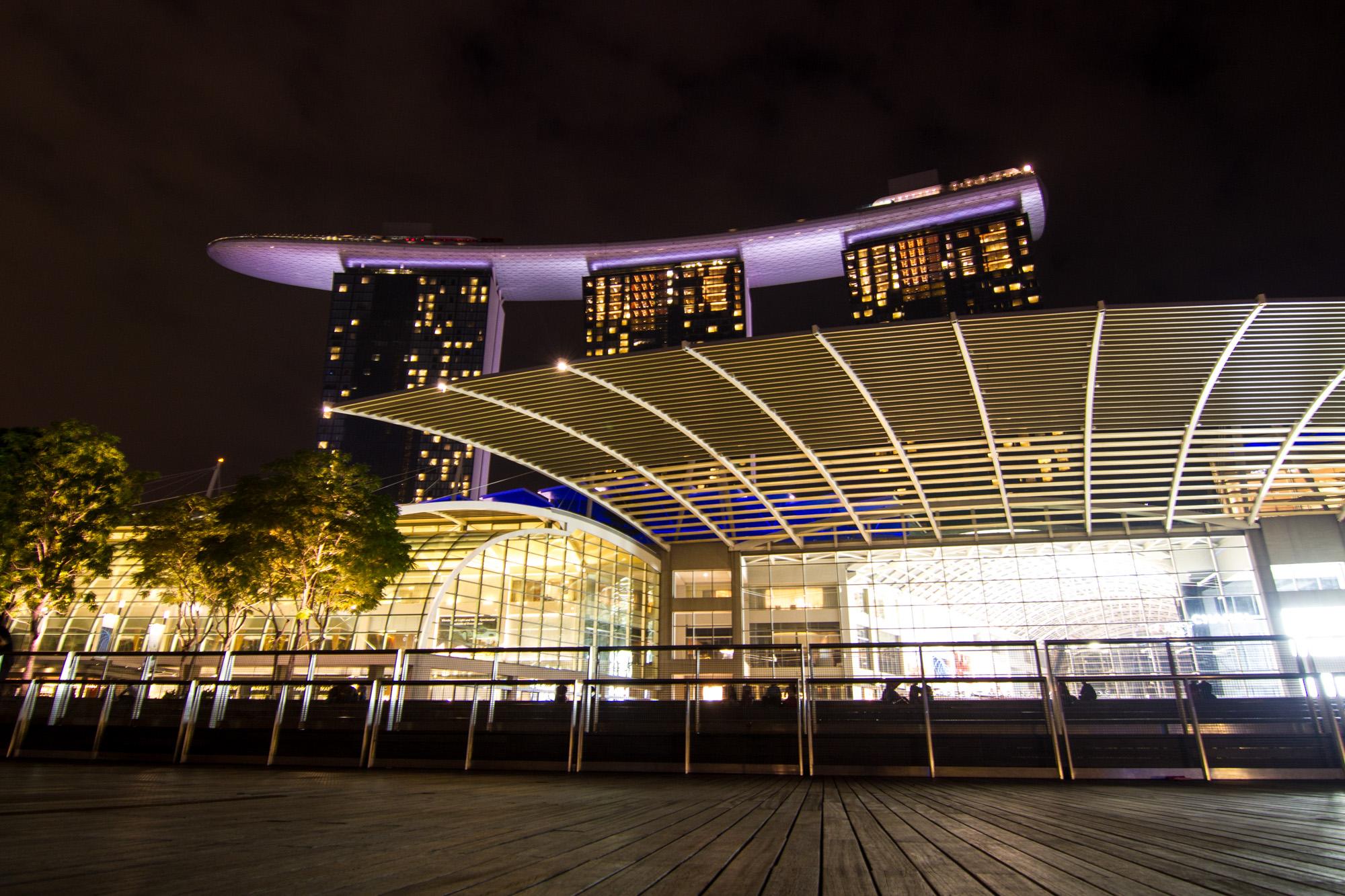 Marina Bay Sands, Singapore.