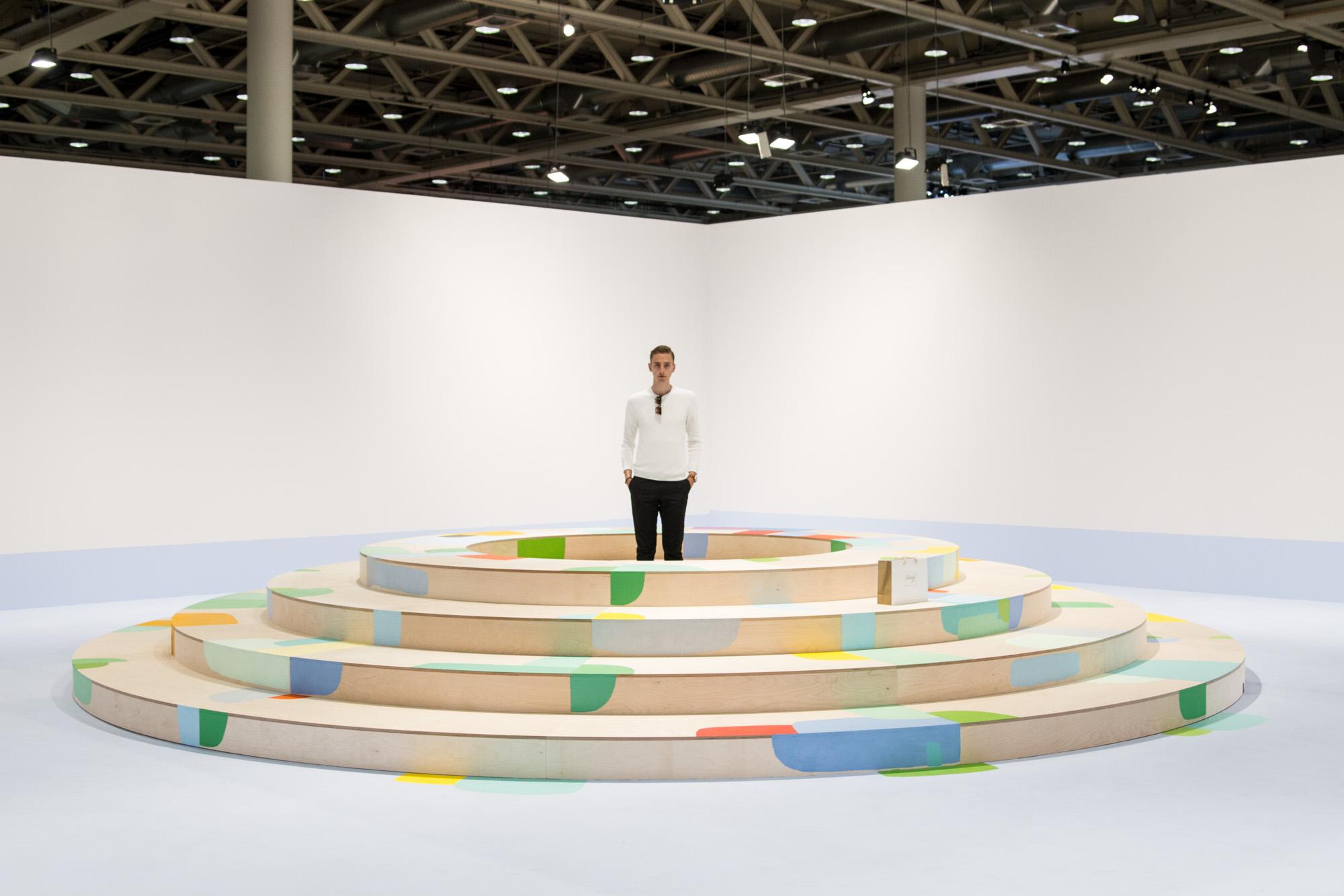 Federico Herrero   Landscape with circles