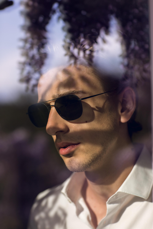 «Darell-S» sunglasses in black matte .