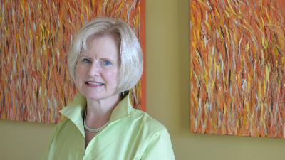 Lisa Olson, PhD aha Group's founder and CEO